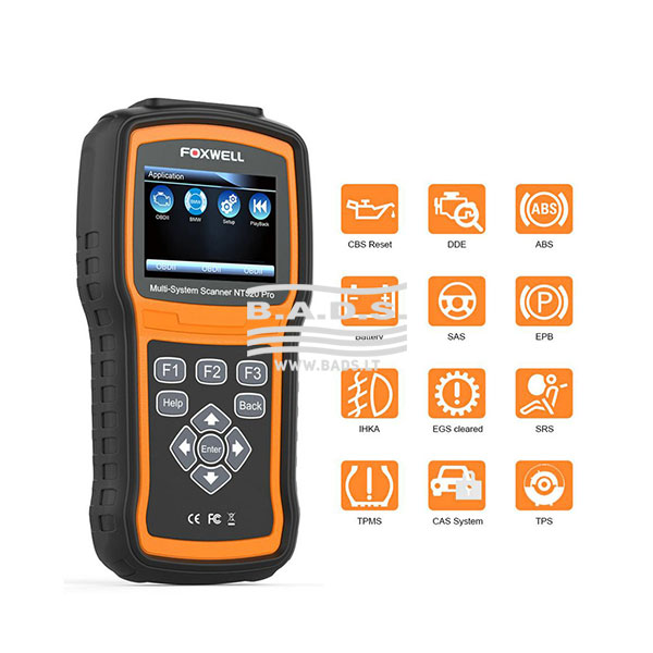 Foxwell NT520 Pro Multi-System Scanner - Diagnostic Equipment